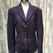 Escada Women Blazer Size 38 Purple B20 Photo