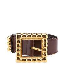 Escada Womens Brown Leather Belt Photo