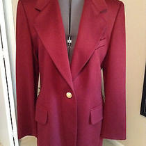 Escada Womens 100% Cashmere Luxury Jacket Blazer Photo