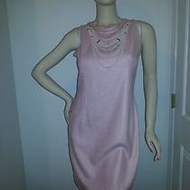 Escada Womens Designer 40  Dress  Pink Necklace 38  8  10 Photo