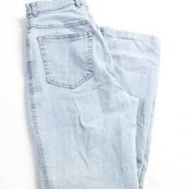 Escada  Womens Straight Leg Jeans Light Blue Denim Size 36 Photo