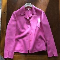Escada Wool Pink Jacket Blazer Size 42 Photo