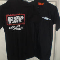 Esp Guitars and Basses Dickie/red Cap Work Shirts Small Lot of 2 Nwot Primo Photo