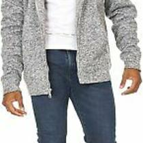 Essential Elements Men's Fuzzy Sherpa Lined Full-Zip Fleece Sweatshirt Hoodie... Photo
