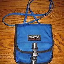 Essential Sport Elements Royal Blue Cross Body Travel Organizer Wallet Purse New Photo