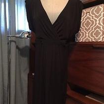 Essentials by a.b.s Little Black Dress Sz 14 Allen Swartz Free Shipping Photo