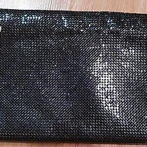 Estate-Vintage Whiting & Davis Black Metal Mesh Clutch Bag/purse  Photo