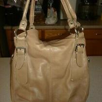 Etasico Flap Soft Large Italian Leather Shoulder Hobo Tote Satchel Purse Bag  Photo