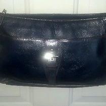 Etienne Aigner Blue Leather Shoulder Bag/purse Cc-B2 Photo
