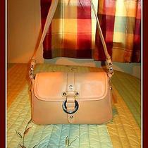 Etienne Aigner Butterscotch Leather Pocket Book Shoulder Bag or Purse Photo