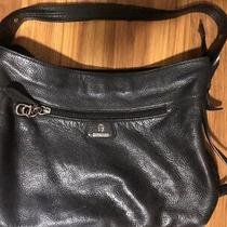 Etienne Aigner Handbag Purse Authentic Vintage Look Black Shoulder Strap Photo
