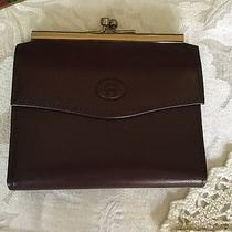 Etienne Aigner Vintage Small Wallet in Mahogany Photo
