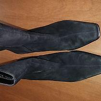 Etienne Aigner Woman Suede Boots Leather Made in Brazil Photo
