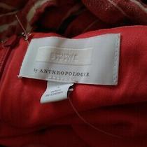 Ett Twa Anthropologie Red White Stripe Halter Wide Leg Jumpsuit W Pockets Size L Photo