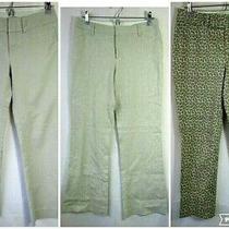 Euc 3 Pair Lot Size 2 Banana Republic Gap Khaki Beige Twill Dress Pants Photo