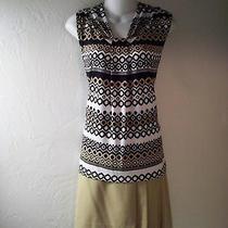 Euc 3 Pcs.- Dana Buchman Top Size M & 2 Skirts Mossimo & Apt. 9 Skirt Size 8 Photo