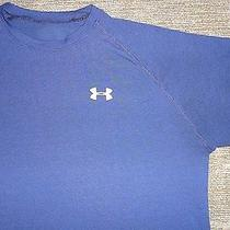 Euc 40 Under Armour Dri-Fit Polyester Moisture Wicking Workout Gym Bike Shirt L Photo