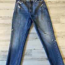 Euc Abercrombie and Fitch Ultra High Rise Mom Jeans sz.26/2r Photo