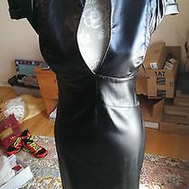 Euc Authentic Black Halo Womens Black Dress  Photo