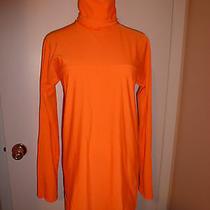 Euc Authentic Fendi Vintage 1990's Orange Top/blouse Long Sleeve Size 6 (40 Eu) Photo