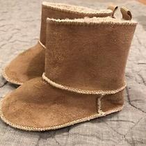 Euc Baby Gap 12-18 Month Shearling Booties/moccasins/slippers Never Worn Photo