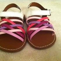 Euc Baby Gap Sandals-Size 3 Infant Photo