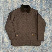 Euc Barbour Navy Quilted