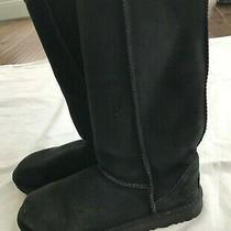 Euc Black Ugg Tall Boots Size 7 Photo