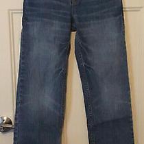 Euc Boys Gap Kids Original 1969 Denim Jeans Distressed Wash Sz 14 Regular Photo