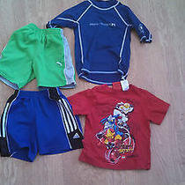 Euc Boys Size 3t Adidas Puma Legos Body Glove 4 Piece Lot Photo