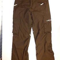 Euc Burton Womens Brown Snow / Sky / Snowboard Pants Size Medium Photo