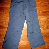 Euc Burton Womens Grey Snow / Sky / Snowboard Pants Size Xsmall Photo