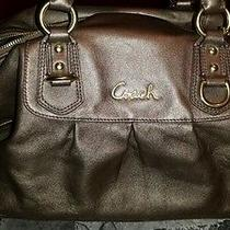 Euc Coach Leather Ashley Satchel F15447 Photo