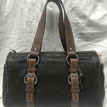 Euc Coach Shoulder Bag 13x4x8 Strap 8 Genuine Leather Brown Photo