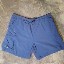 Euc Columbia Men's Fishing Swimming Shorts Color Blue Sz 2xl Xxl  Photo