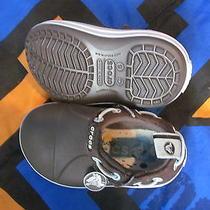 Euc Crocs Boys (C6) Brown Water Shoes Photo