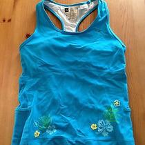 Euc /danskin Tech Elements Triathlon Tri Tank / Bike Run Swim/ W / L / 12-14 Photo