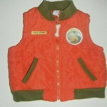 Euc Disney Boy's Quilted Vest - Fossil Finder - Size 18 Mos. Photo