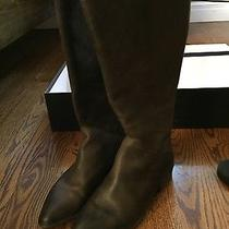 Euc Dolce Vita Women's Meris Riding Boot Espresso Solid Leathersize 7.5 Photo