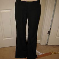 Euc Express Design Studio Black Dress Pants Slacks Size 4 With 33