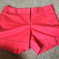 Euc Express Dress Shorts Sz 2 Coral Like Colored Cute Favorite Work Photo
