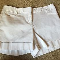 Euc Express Dress Shorts Sz 2 White Colored Cute Favorite Work Photo