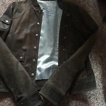 Euc Fossil 100% Soft Leather Womens Jacket Size L Photo