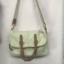 Euc Fossil Satchel Tote Cross Body Size Large Excelente Condition Photo