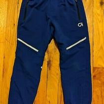Euc Gap Fit Girls Blue Drawstring Waist Athletic Pants Size Small Photo