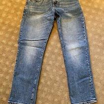 Euc Gap Kids Boys Denim 1969 Jeans Light Faded Regular Straight 10 Photo