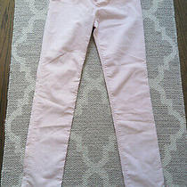 Euc Gap Kids Girls Thin Sparkle Blush Corduroy Pants Size 14 Regular Photo