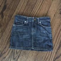 Euc Gap Kids Size 4 Jeans Skirt Photo