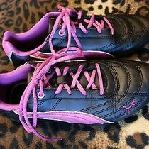 Euc Girls Puma Sneakers Size 1 Photo