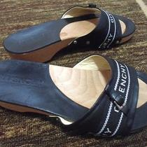 Euc Givenchy Wood Leather Clogs Photo